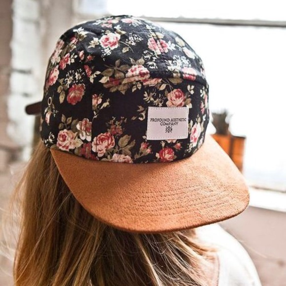 Profound Aesthetic Co. Floral Hat. M 5b457c41194daddd77561586 54ba3c42638b